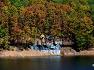 칠갑산 천장호 출렁다리의 가을