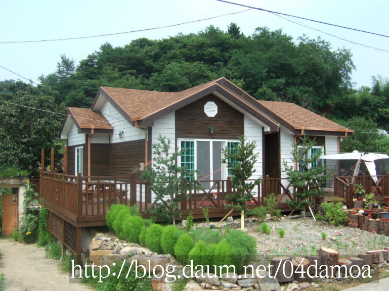 [조립식주택 221번] 가장 많이 찾는 전원주택,경량철골조//시골 ...