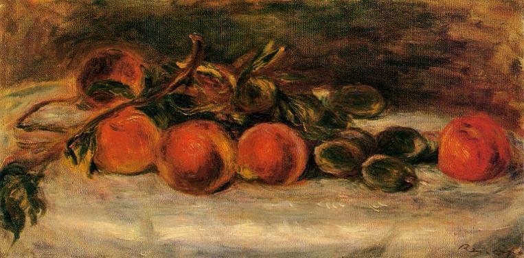 Auguste Renoir Still Life. Pierre Auguste Renoir - circa