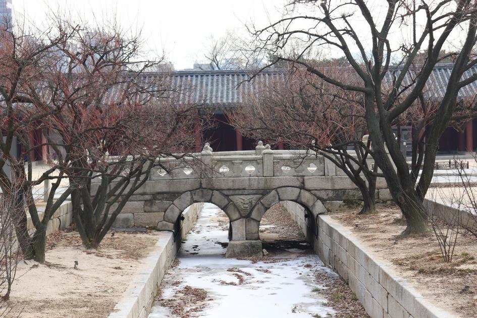 창경궁 옥천교(보물 제386호)
