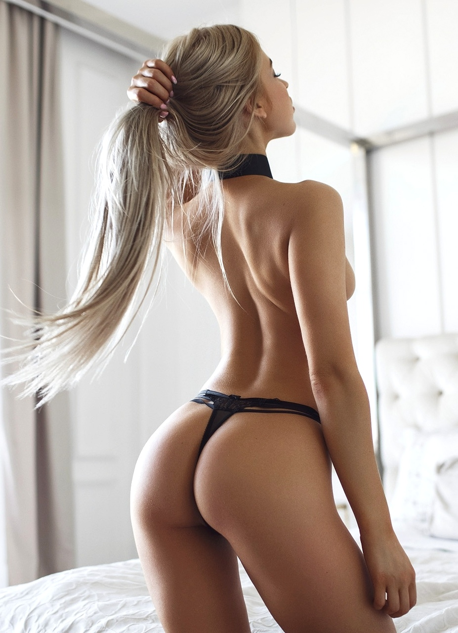 hot woman's back
