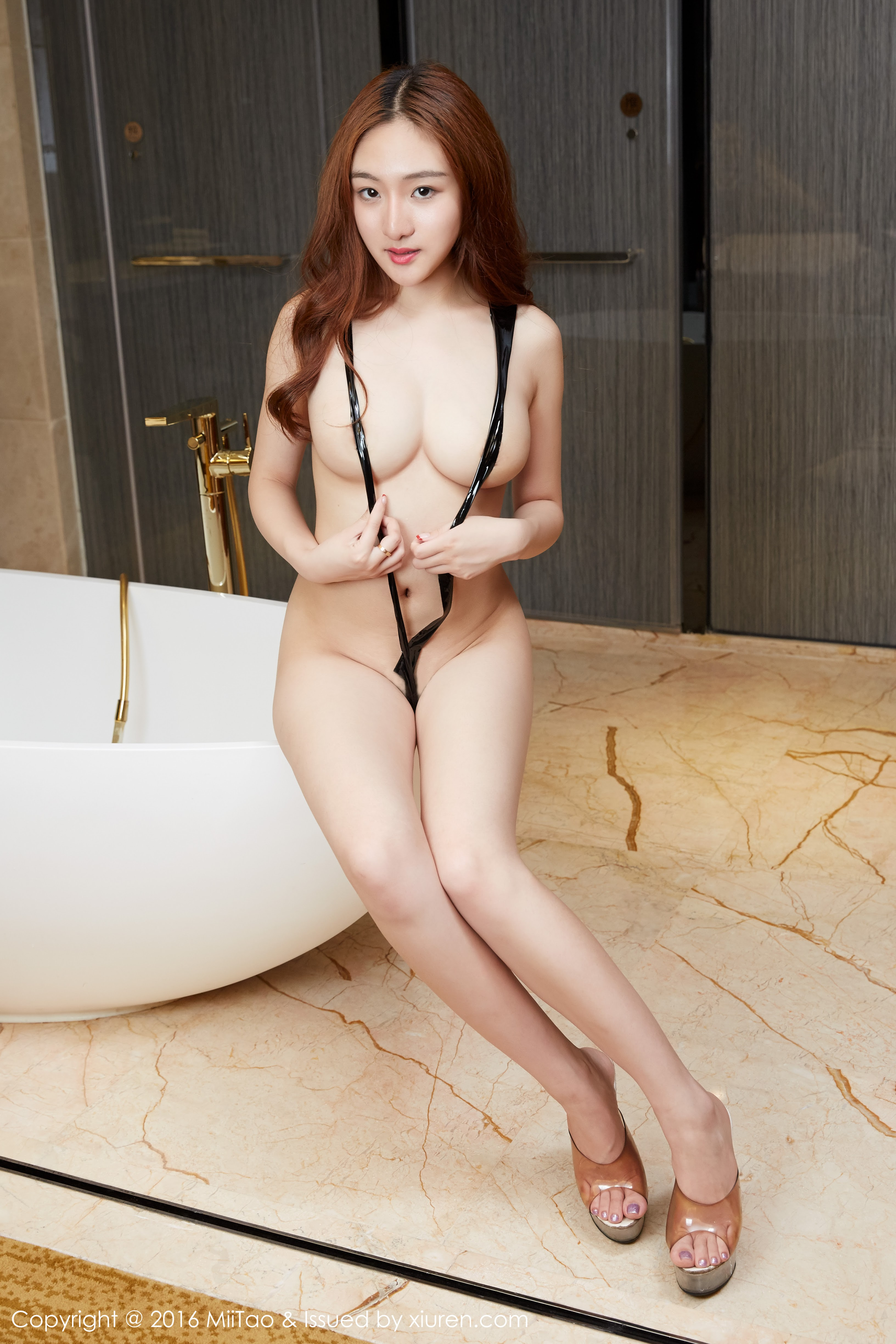 hot Chinese in sexy pose