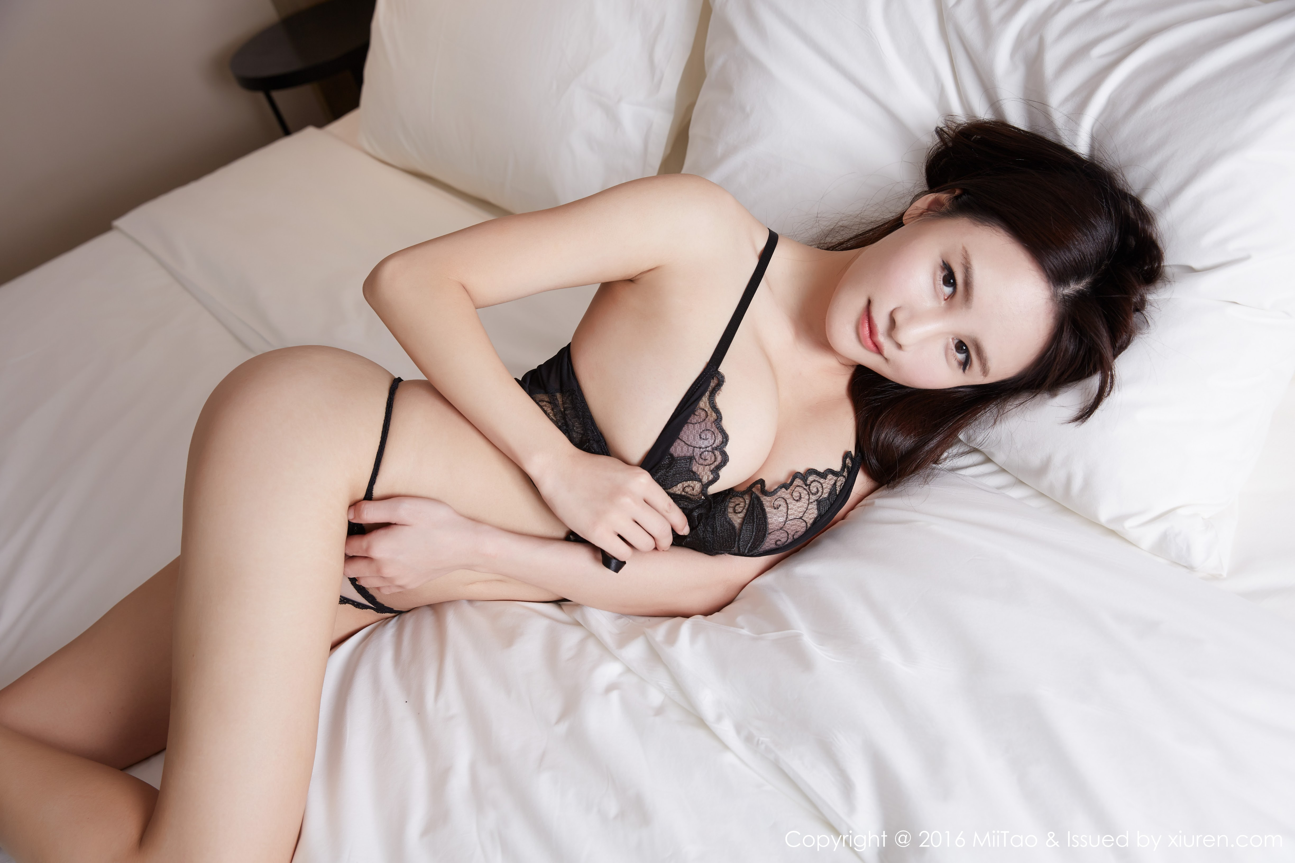 hot lingerie Chinese cute girl